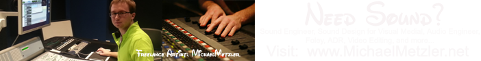 Freelance Minneapolis Sound Designer - ProTools Certified | Mike Metzler